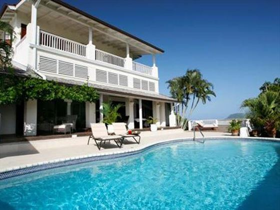Villa Tamarind St Lucia Book Now With Tropical Sky