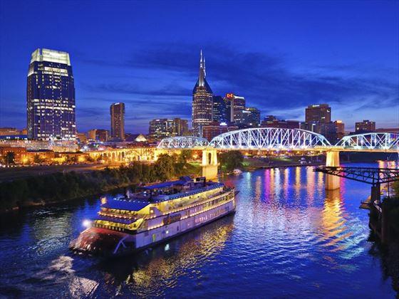 Riverboat on the Cumberland River, Nashville