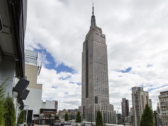 Manhattan Skyline Rooftop