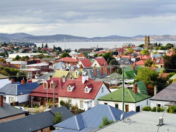 Rooftops of Hobart