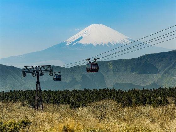 Ropeway at Hakone
