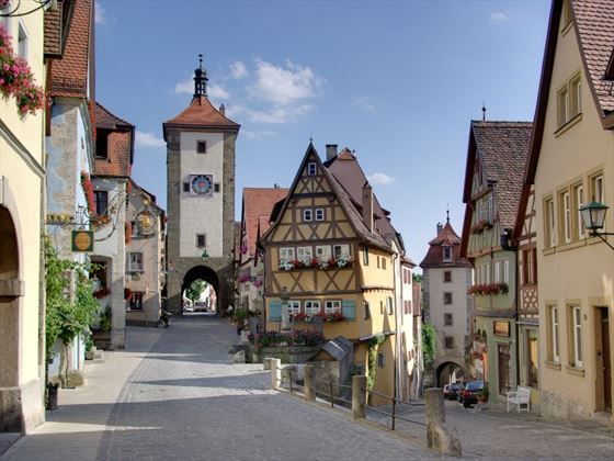 Medieval Rothenburg, Germany