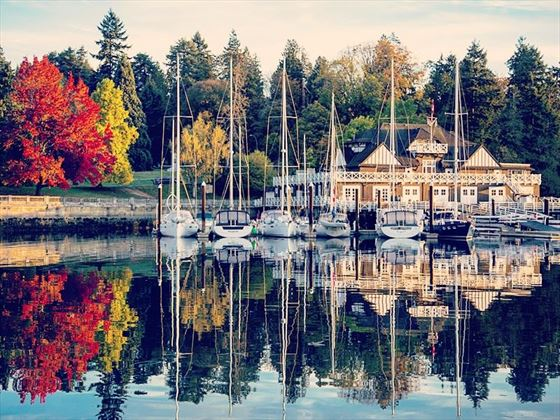 Royal Vancouver Yacht Club, Stanley Park