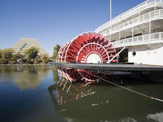 Sacramento paddleboat