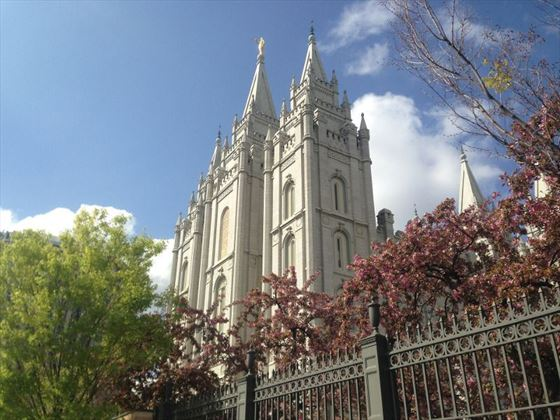 Temple Square at Salt Lake City