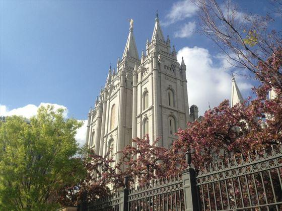 Temple Square at Salt Lake City