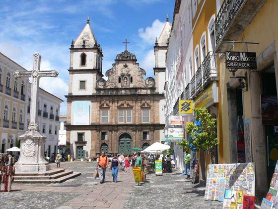 Salvador Pelourinho Square Brazil