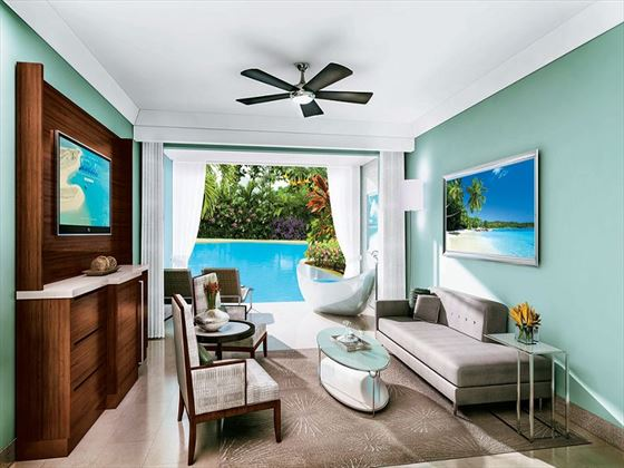 Sandals Barbados Swim-Up Suite (Artist Impression)