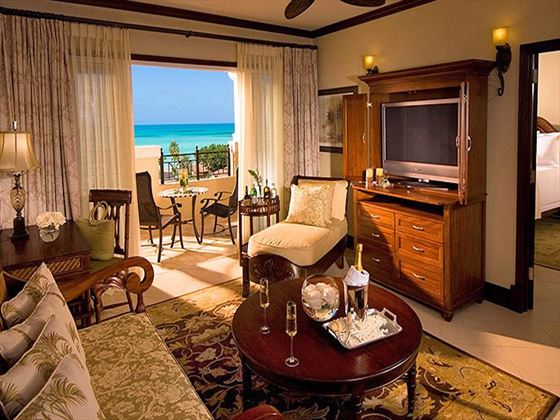 Sandals Grande Antigua Resort & Spa Honeymoon Suite living room