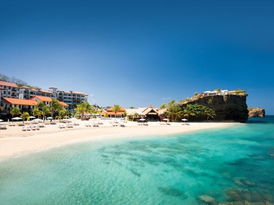 Beach at Sandals LaSource Grenada