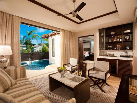Sandals LaSource Grenada Butler Suite