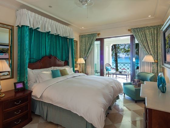 Sandy Lane room interior