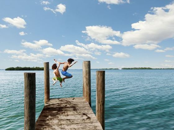 Dive in at Fort Myers and Sanibel