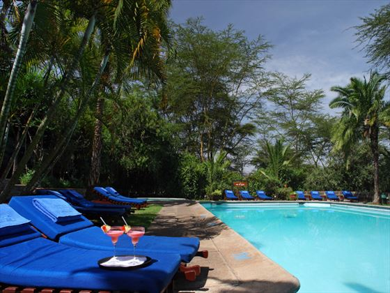 Sarova Lion Hill Lodge pool