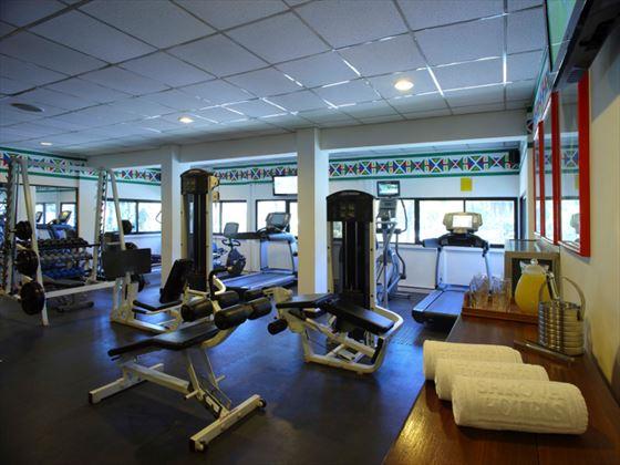 Sarova Whitesands gym