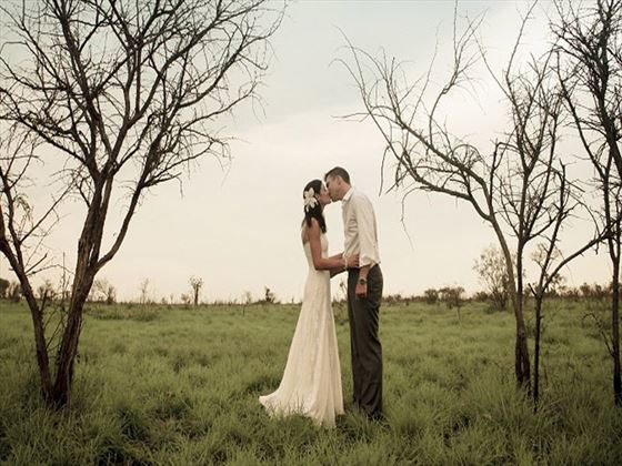 Bride & Groom, Savanna Lodge