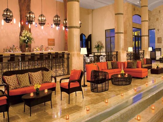 Secrets Maroma Beach Riviera Cancun lobby bar