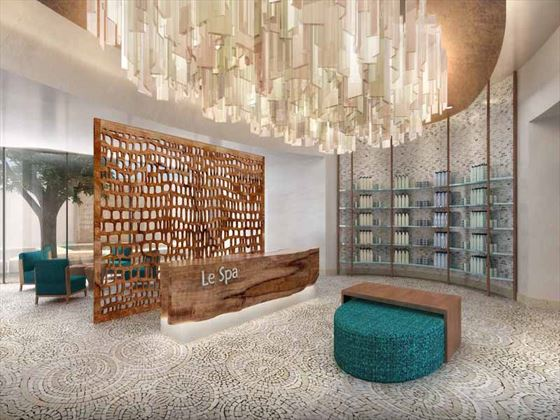 Secrets Spa by Pevonia® reception area
