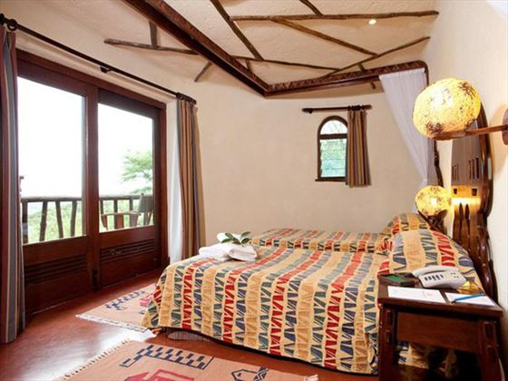 Serengeti Serena Lodge enjoy the view