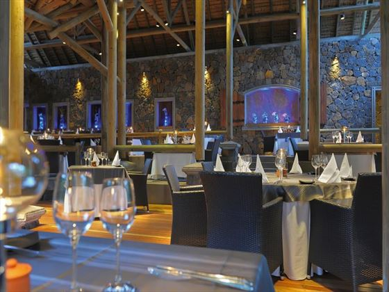 Shandrani Resort & Spa Le Boucanier restaurant