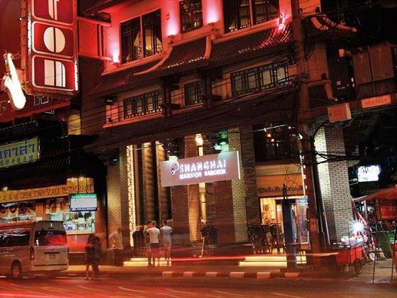 Shanghai Mansion Bangkok exterior