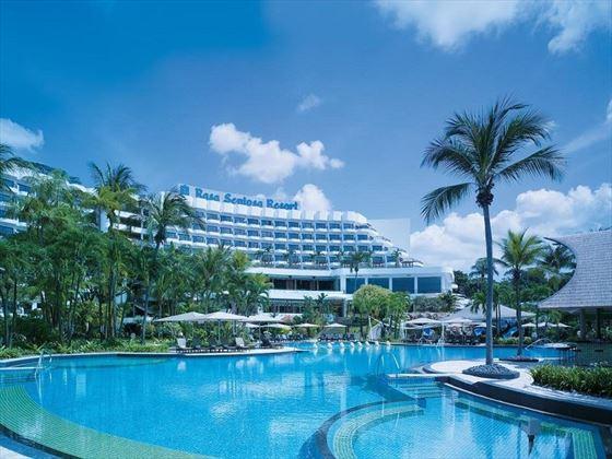 Shangri-La Rasa Sentosa Resort Exterior & Pool