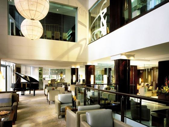 Shangri-La Hotel Sydney lobby lounge