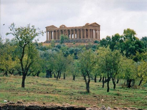 Temple of Concord Agrigento Sicily
