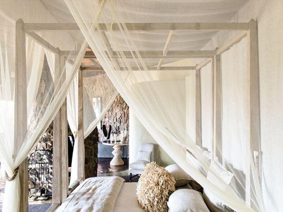 Singita Boulders Lodge bedroom