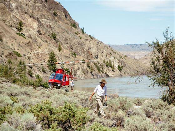 Siwash Lake Wilderness Resort helicopter safari