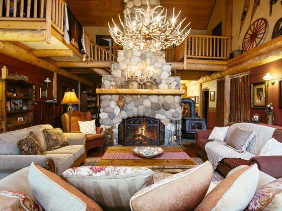 Siwash Lake Wilderness Resort, The Great Room