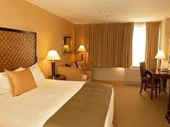 Skyline Hotel Room