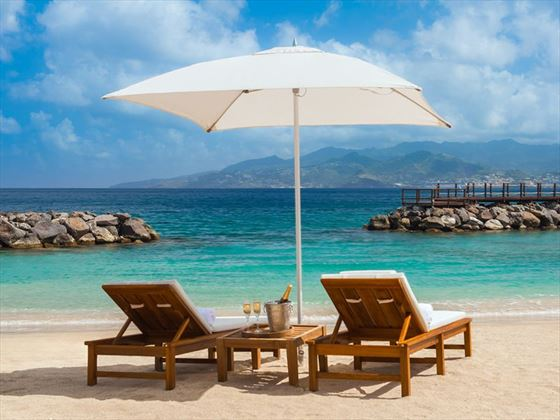 Waiting for you at Sandals LaSource Grenada