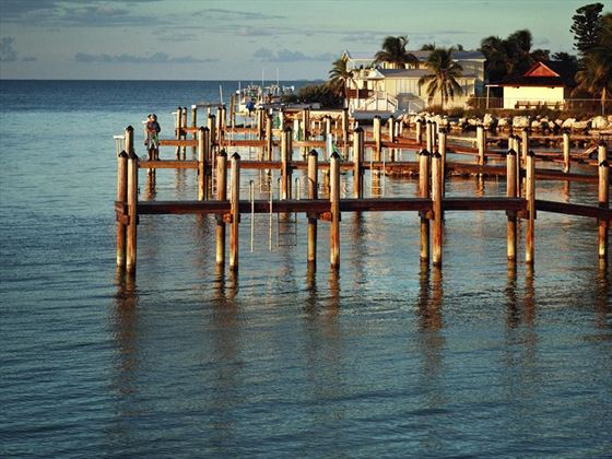 Small pier on Islamorada