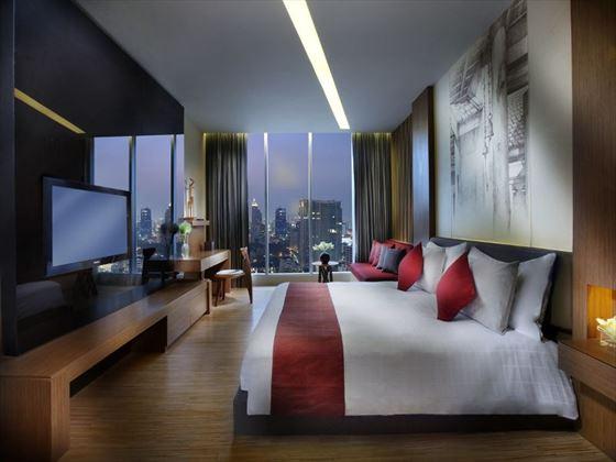 Wood Element Room at Sofitel So Bangkok