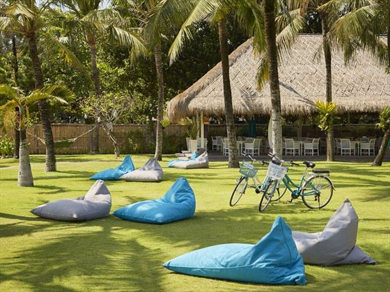 The gardens at Sol Beach House Melia Benoa
