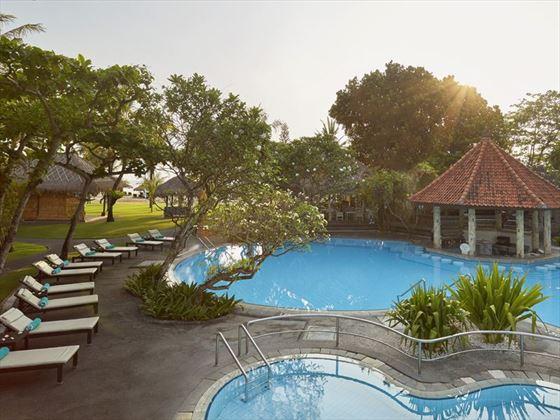 The swimming pool at Sol Beach House Melia Benoa