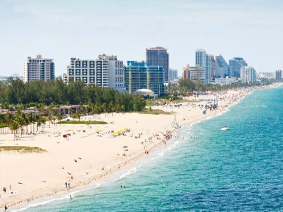 Fort Lauderdale beach, South Gold Coast