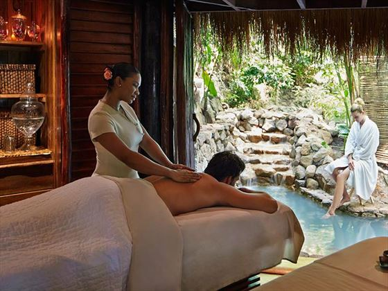 Spa facilities at Sugar Beach