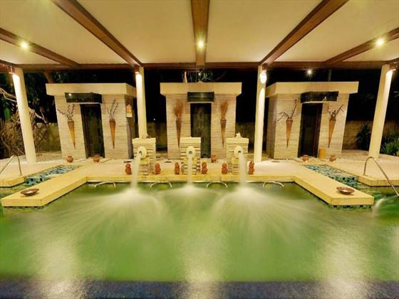 Spa plunge pool at Grand Mirage Resort and Thalasso Spa
