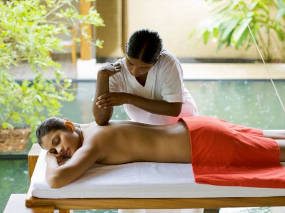 Spa treatment at Saman Villas