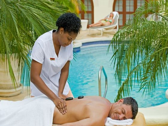 Spa treatment at Tamarind by Elegant Hotels