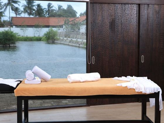 Spa treatments available at Jetwing Lagoon Negombo