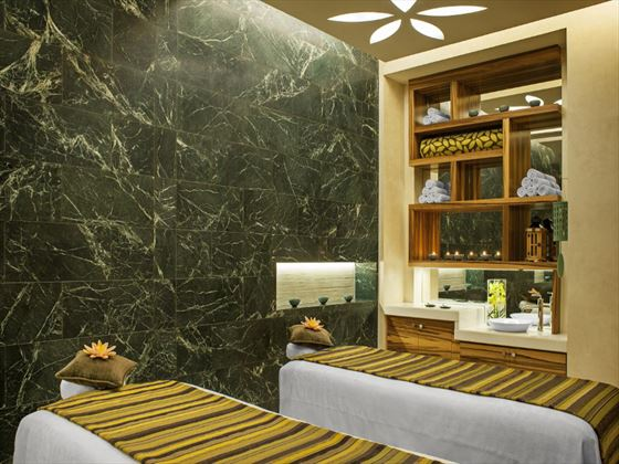 Spa treatment room at Westin Abu Dhabi