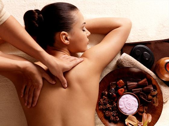 Take advantage of the great treatments available on your spa getaway