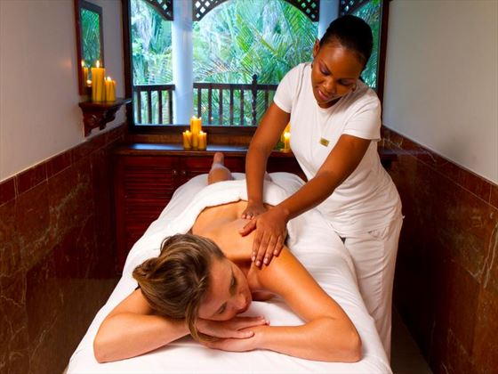 Spa treatments at The Jewel Dunn's River Resort