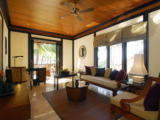 Bali Suite Living Room, Spa Village Resort Tembok, Bali
