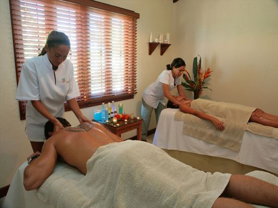 Relax with a spa at Sugar Cane Club Hotel & Spa