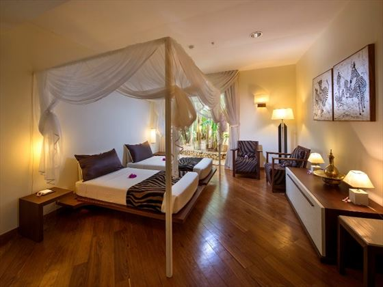 Spacious bedroom at Diamonds Star of the East