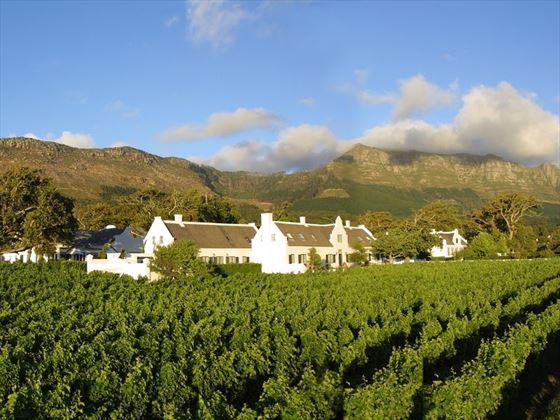 Exterior view of The Steenberg Hotel